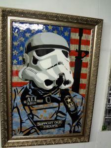 Storm Trooper by Ali Gonzalez