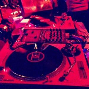 DJ setup @ Tumbe