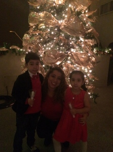 My sister and her kiddos.
