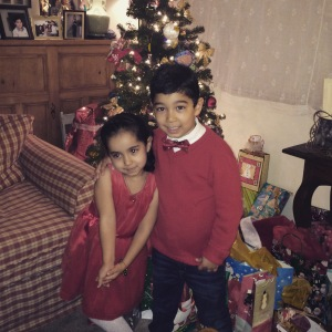My beautiful nephew and niece
