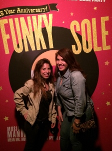 Funky Sole @ Echoplex with my friend Judy.