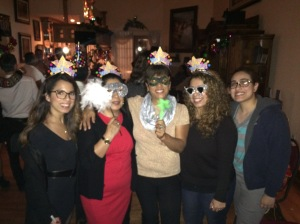 My family consists of women except for my nephew =)